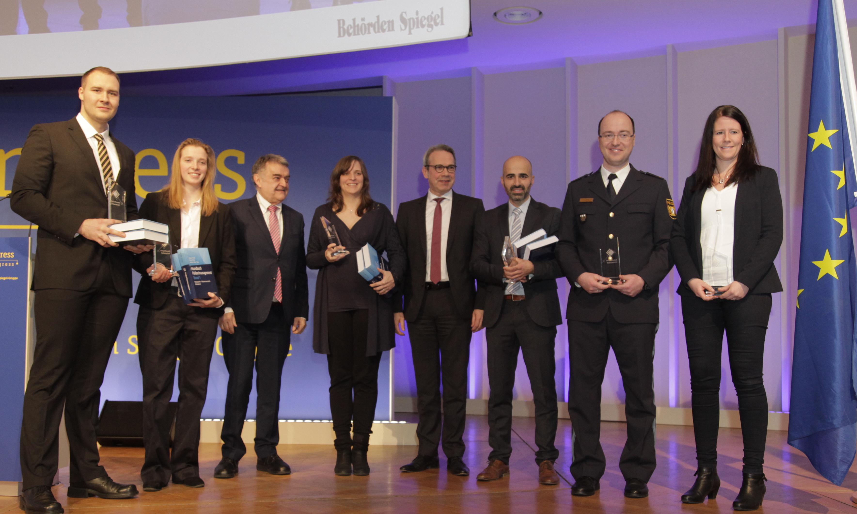 Preisträger Innovationspreis auf dem Europ. Polizeikongress