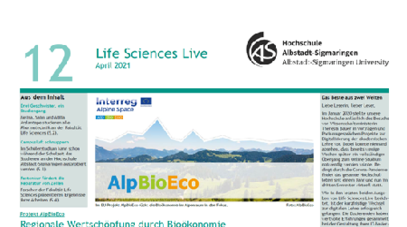 Screenshot Life Sciences Live Nr. 12