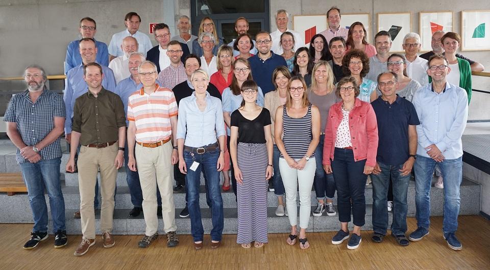 Professorinnen, Professoren, Mitarbeiterinnen und Mitarbeiter der Fakultät Life Sciences